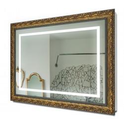 Зеркало в раме с подсветкой 7010