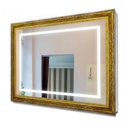 Зеркало в раме с подсветкой 7080
